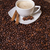kávéscsésze · fahéj · ánizs · kávé · fókusz · csésze - stock fotó © Elisanth