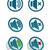 vector simple speaker icons stock photo © elisanth