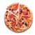 先頭 · 表示 · ピザ · ハム · まな板 · 木材 - ストックフォト © elisanth