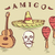 vector illustration of hand drawn mexican objects set stock photo © elisanth
