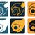 механиком · инженерных · логотип · вектора · аннотация · иллюстрация - Сток-фото © elisanth