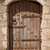 old wooden door with metal decor stock photo © elisanth