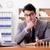 zakenman · kantoor · hand · telefoon · helpen · praten - stockfoto © elnur