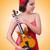 молодые · музыканта · скрипки · изолированный · белый · человека - Сток-фото © elnur