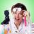 çılgın · kadın · kimyager · laboratuvar · doktor · çalışmak - stok fotoğraf © elnur