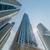 magas · Dubai · marina · felhőkarcolók · víz · épület - stock fotó © elnur