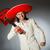 portré · jóképű · mexikói · fiatalember · izolált · fehér - stock fotó © elnur