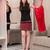 mulher · difícil · escolha · escolher · roupa · moda - foto stock © elnur