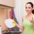 jóvenes · esposa · mujer · cocina · nina - foto stock © Elnur