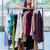 ravi · femme · nouvelle · vêtements · magasin - photo stock © elnur