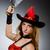 vrouw · piraat · scherp · mes · partij · mode - stockfoto © elnur