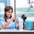 保護された · 科学 · 学生 · 青 · 液体 · 試験管 - ストックフォト © elnur