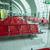 luchthaven · 3d · render · venster · kamer · Blauw · stoel - stockfoto © elnur