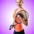 woman tennis player on white stock photo © elnur