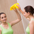 feminino · governanta · detergente · limpeza · quarto · feliz - foto stock © elnur