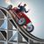 businessman driving sports car on roller coaster stock photo © elnur