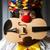 vicces · bohóc · hegedű · függöny · zene · mosoly - stock fotó © elnur