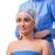jonge · vrouw · plastische · chirurgie · geïsoleerd · witte · vrouw · gezicht - stockfoto © elnur