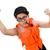divertente · uomo · indossare · arancione · felice - foto d'archivio © elnur