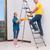 família · pintura · quarto · juntos · feliz · jovem - foto stock © elnur