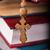 houten · rozenkrans · bijbel · boek · bidden · antieke - stockfoto © elnur