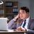 empresário · escritório · longo · papel · trabalhar · noite - foto stock © elnur