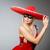 kobieta · maska · biznesmen · garnitur · zabawy · pracownika - zdjęcia stock © elnur