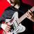 man · spelen · gitaar · concert · muziek · partij - stockfoto © elnur