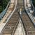 rail tracks in bright summer day stock photo © elnur