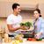 keuken · ochtend · vrouw · gelukkig · home - stockfoto © elnur