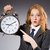 деловая · женщина · часы · поздно · женщину · работу · бизнесмен - Сток-фото © elnur