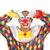 sad clown isolated on white stock photo © elnur