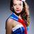 若い女性 · 船乗り · 海洋 · 笑顔 · 顔 · ファッション - ストックフォト © elnur