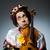 vicces · hegedű · bohóc · játékos · musical · zene - stock fotó © elnur