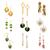 brillante · bracciale · orecchini · buio · tessili · moda - foto d'archivio © elnur