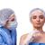 médico · injeção · lábios · mulher · mãos · moda - foto stock © elnur