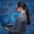 zakenvrouw · laptop · wereldwijde · business · computer · wereld · aarde - stockfoto © elnur