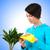 plantas · grama · bocal · natureza - foto stock © elnur