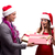 felice · squadra · Natale · ufficio · party - foto d'archivio © elnur