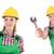 plomberie · écrou · clé · eau · bâtiment · construction - photo stock © elnur