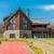 giardino · casa · tetto · clean · grondaia · estate - foto d'archivio © elnur