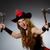femenino · pirata · traje · mujer · ojo - foto stock © elnur