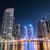 Dubai · marina · felhőkarcolók · éjszaka · égbolt · víz - stock fotó © elnur