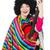 vicces · fiatal · mexikói · gitár · izolált · fehér - stock fotó © elnur