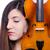 nő · előadó · játszik · hegedű · fehér · fa - stock fotó © elnur