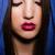 jonge · dame · hoofddoek · zonnebril · zee · hemel - stockfoto © elnur
