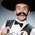 komik · Meksika · geniş · kenarlı · şapka · el · mutlu · Retro - stok fotoğraf © elnur