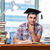 fiatalember · érettségi · vizsgák · főiskola · könyvek · iskola - stock fotó © elnur
