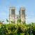 Париж · собора · ночь · воды · здании - Сток-фото © elnur