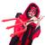 człowiek · diabeł · kostium · halloween · uśmiech · sexy - zdjęcia stock © elnur